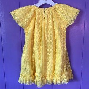 Gymboree Dresses - Yellow Lace Dress New W/O Tags